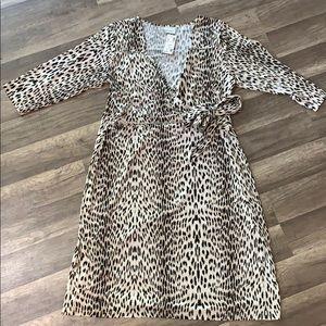Avenue - Wrap Dress - size 14/16W